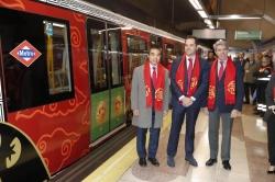Los madrileños podrán disfrutar de un tren decorado con forma de dragón