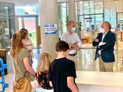 l Ayuntamiento estrena el telepréstamo para mayores en la reapertura de la Biblioteca