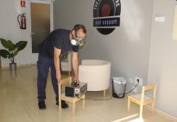 El Ayuntamiento está desinfectando con ozono 300 establecimientos del municipio