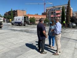 El Ayuntamiento pone en marcha un plan de limpieza de choque estival en los espacios más transitados