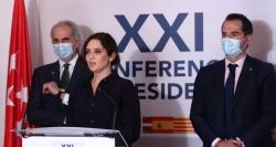 """Díaz Ayuso:""""No se puede pedir que unas CCAA tengan más independencia y otras menos autonomía"""""""