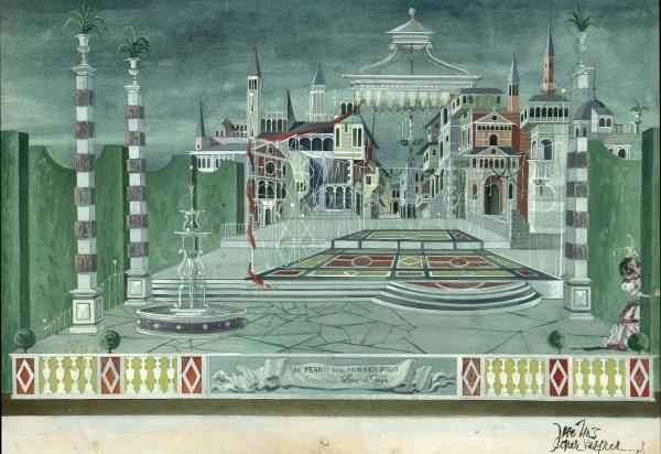 La obra de Lope de Vega en la escenografía teatral, en una exposición en su Casa Museo.