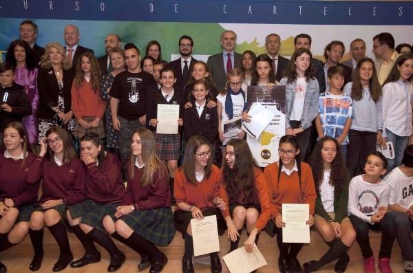 Premiados los mejores carteles sobre la UE realizados por escolares de la Comunidad