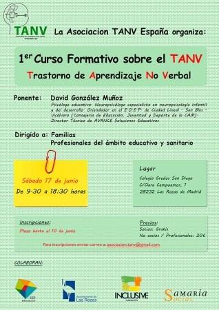 Las Rozas alberga el primer Curso sobre el Trastorno del Aprendizaje no Verbal (TANV)
