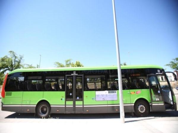 Hoy día 14 vuelve a funcionar el servicio de autobús en el barrio del Torreón
