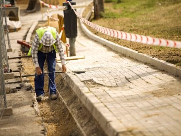Comienza la remodelación de la Avenida de la Coruña entre la plaza de Madrid y la avenida Doctor Toledo