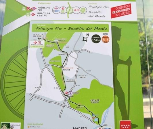 Boadilla, destino de una nueva ruta verde de la Comunidad de Madrid