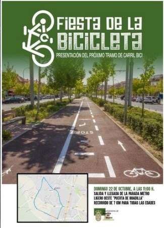 Marcha ciclista el próximo domingo para presentar la construcción de un nuevo tramo de carril bici