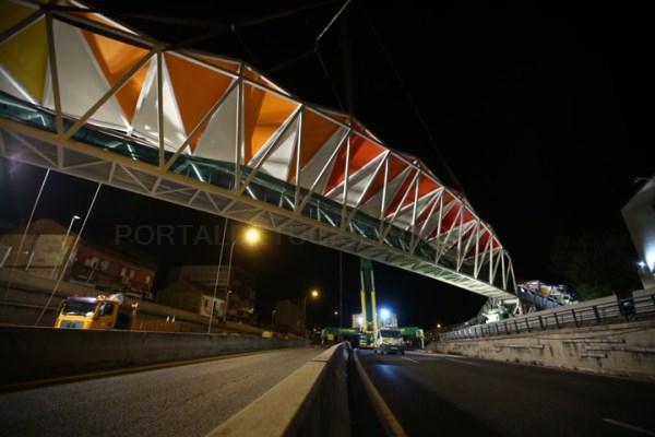 Una nueva pasarela de 52 metros sobre la A-6 comunicará La Marazuela y la estación de Las Rozas con la plaza de Madrid.