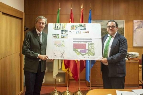 Aprobado el proyecto de remodelación integral del parque de la carretera de Villaviciosa.