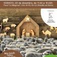 Las ovejas llegarán a Boadilla el próximo día 22 y formarán parte del tradicional Belén viviente.