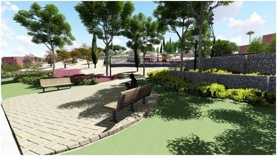 El Ayuntamiento  ha emprendido la remodelación del parque de la Granja del Conde ubicado al oeste del municipio.