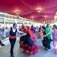 Feria de Abril para los mayores.