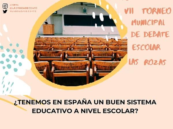 VII Torneo Municipal de Debate Escolar Las Rozas