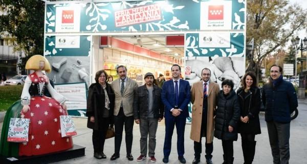 La Feria Mercado de Artesanía reúne este año a 155 talleres artesanos procedentes de 11 comunidades autónomas.