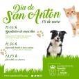 El próximo sábado en la Iglesia del Antiguo Convento celebrará la bendición de mascotas
