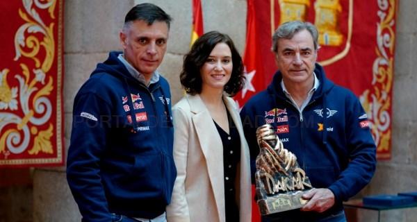 Carlos Sainz y Lucas Cruz vuelven a situar al deporte y a los deportistas españoles en lo más alto