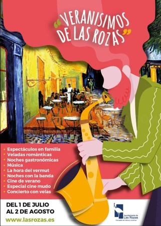 Las Rozas. Veladas gastronómicas y románticas, música y cine al aire libre entre las novedades para el verano en Las Rozas