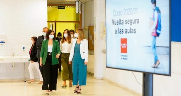 Invertimos el mayor volumen de recursos de la historia de la Educación madrileña