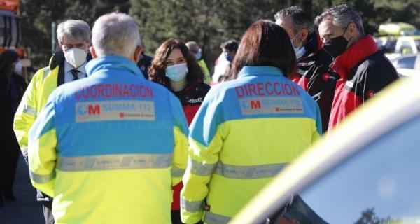 Díaz Ayuso anuncia la incorporación de médicos de SUMMA 112 al helicóptero de rescate del GERA