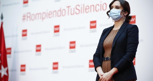 """Díaz Ayuso:""""La erradicación de la violencia contra las mujeres debe quedar fuera del partidismo"""