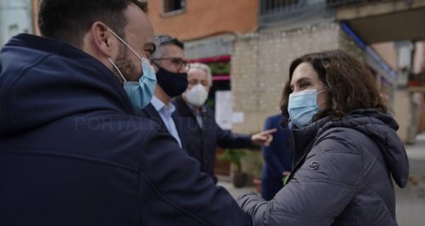 Díaz Ayuso traslada a los hosteleros catalanes las medidas antiCOVID-19 de Madrid