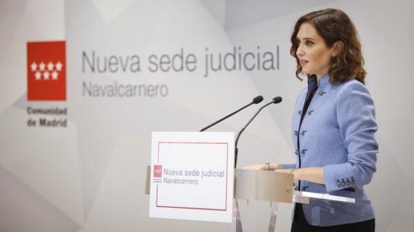 Díaz Ayuso inaugura la sede judicial de Navalcarnero