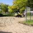 Comienza la remodelación integral del parque Hermanos Machado
