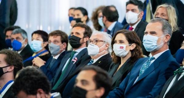 Díaz Ayuso asiste a la inauguración de la nueva sede del IE Business School
