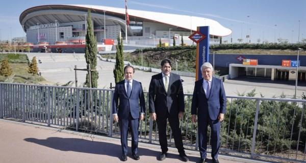 Ponemos en marcha un aparcamiento disuasorio gratuito junto al estadio Wanda Metropolitano