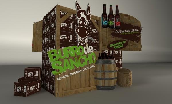 cajas de cerveza burro de sancho