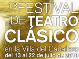 FESTIVAL DE TEATRO CLASICO VILLA DEL CABALLERO
