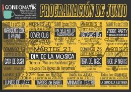 PROGRAMACIóN DE JUNIO EN GONDOMATIK