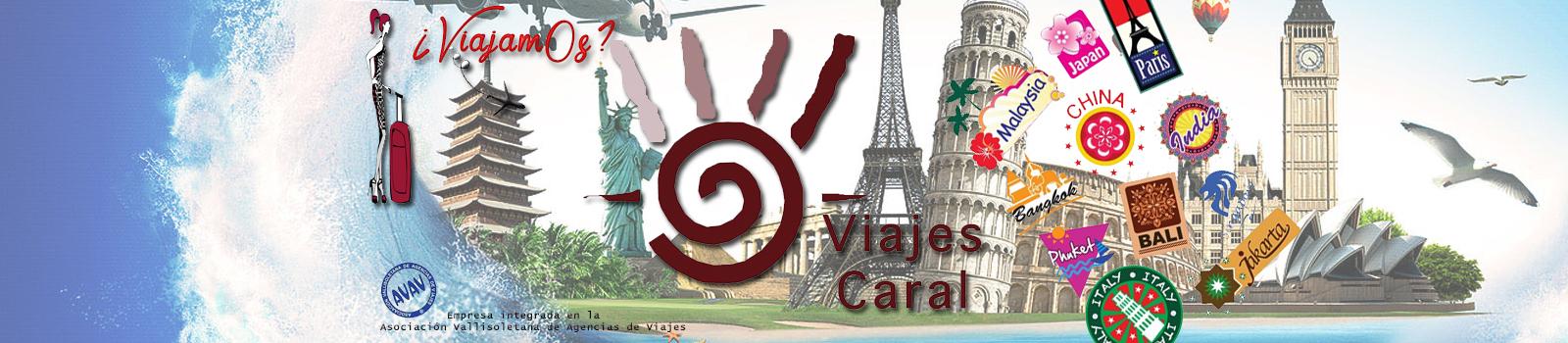 Agencia de Viajes en Valladolid CARAL,viaje,ruta,barato,vuelos,reservas,reservas online