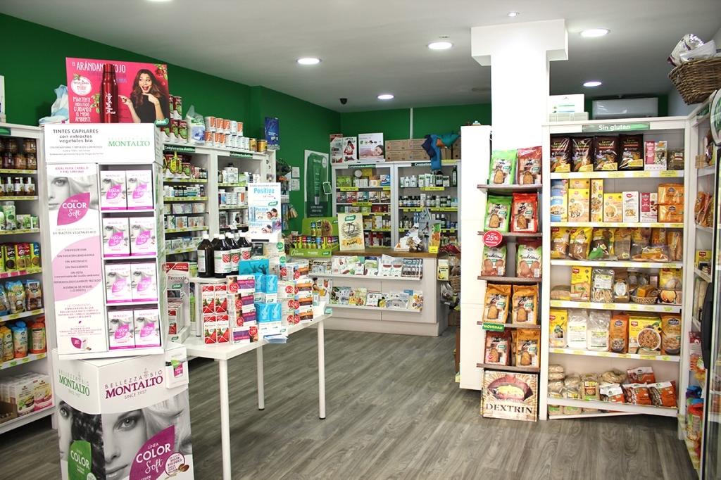 Tienda Santiveri en Valladolid,productos medicinales,plantas medicinales,sin gluten,pan
