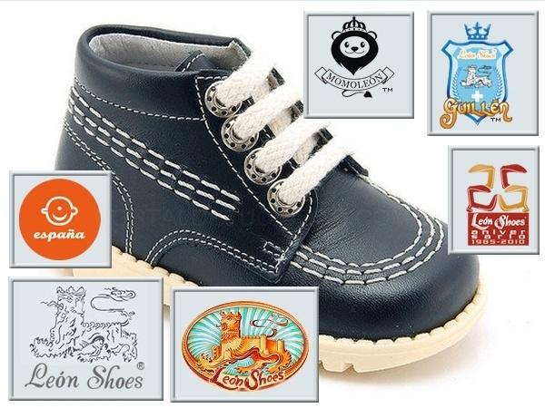 Calzado infantil, todas las tallas de zapato para niño, box marino