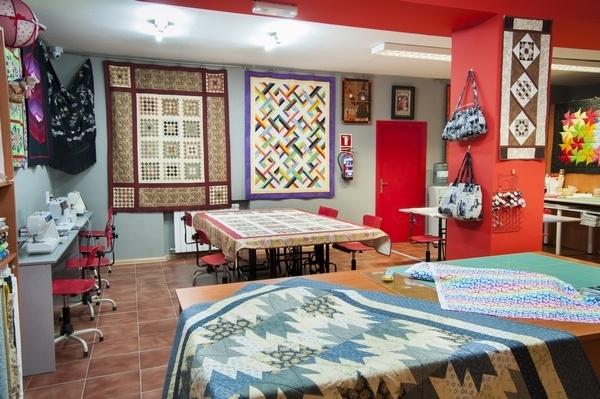 Cursos de Patchwork en Valladolid,profesores de patchwork,telas para patchwork