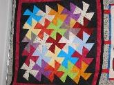 lanas de primera calidad,  patchwork en parquesol