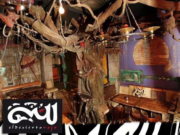 El desierto Rojo, pub en valladolid, quiero arte valladolid, bar en valladolid, plaza universidad