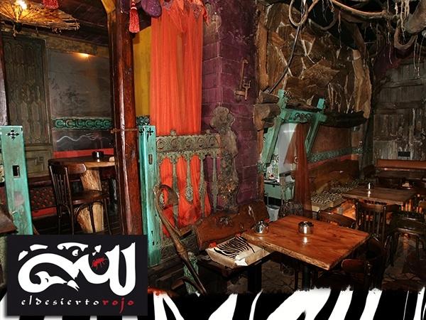 El desierto Rojo, pub en valladolid,quiero arte valladolid, bar en valladolid, plaza universidad