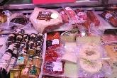 Bacon,queso provolone,pimientos,aceitunas,mortadela,encurtidos