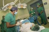 Cirugia de mínima incisión, cura del pie