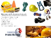 Materiales de proteccion laboral, cascos de seguridad