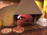 comida domicilio, Pizzas de masa fina