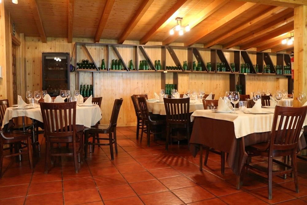 restaurante intimo con terraza,solomillo de buey,lechazo