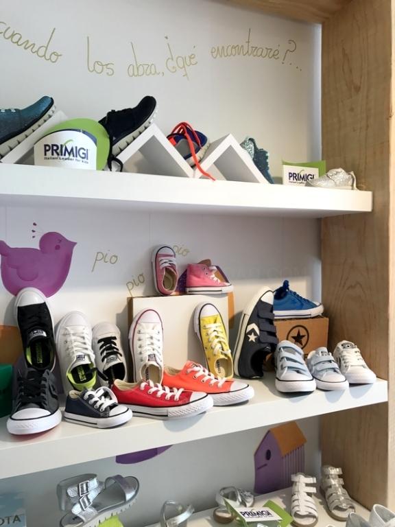 Zapatos para niña y niño
