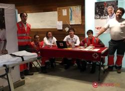 45 personas reciben asistencia sanitaria en San Juan