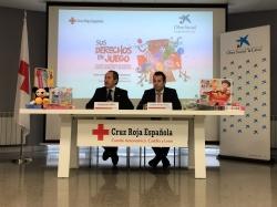 """La Obra Social """"la Caixa"""" presenta una campaña de ayuda económica para Cruz Roja en Castilla y León destinada a juguetes para niños y niñas  en situac"""