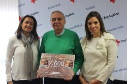 CRUZ ROJA ESPANOLA EN VALLADOLID RECIBE 7.600 EUROS PARA LA ATENCION DE PERSONAS REFUGIADAS EN GRECIA