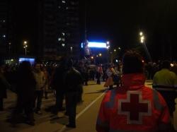 Dispositivo de Cruz Roja durante los Carnavales de Valladolid